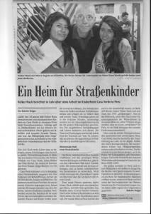 Zeitungsbericht BZ 30-09-2015